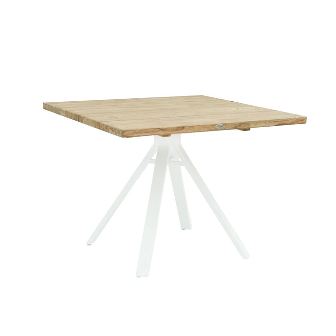 Alaska Square Dining Table - White Matte