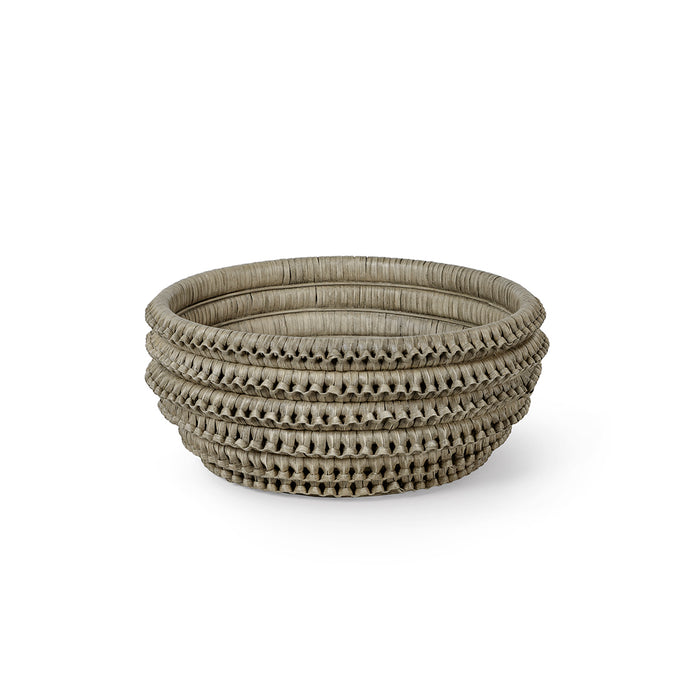 Kenis Braided Bowl - Grey