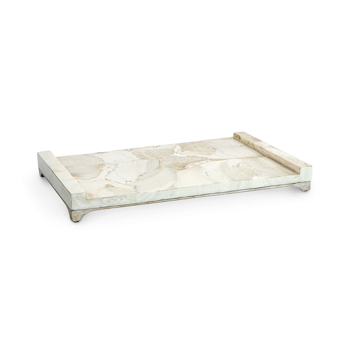 Gia Large Fossilized Clam Tray