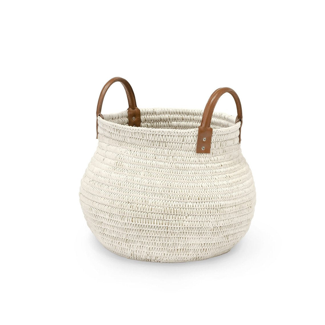 Cairo Basket White, Small