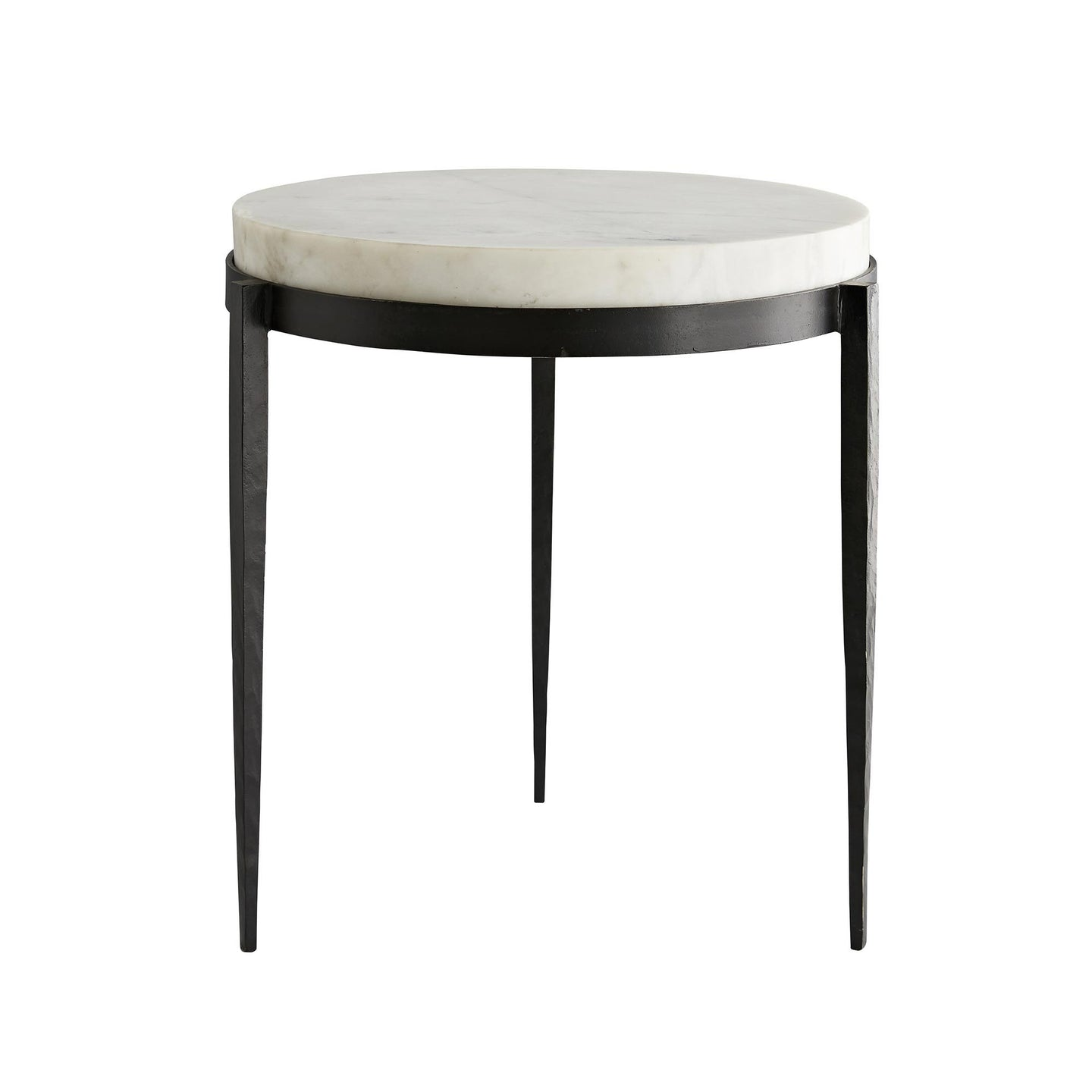 Kelsie Side Table - White Marble