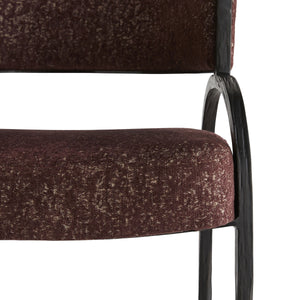 Bahati Chair - Bordeaux