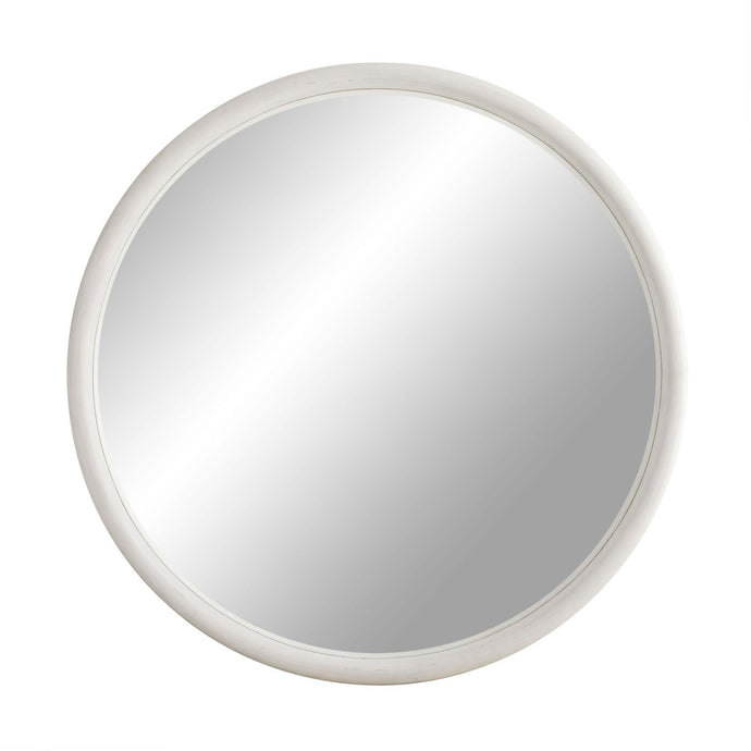 Lesley Large Mirror - White Wash