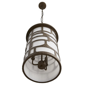 Shani Outdoor Pendant - Aged Brass