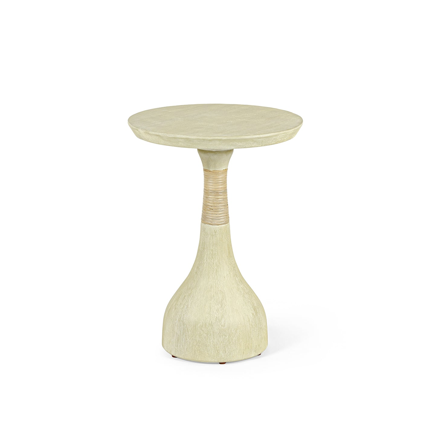 Hollis Side Table - White