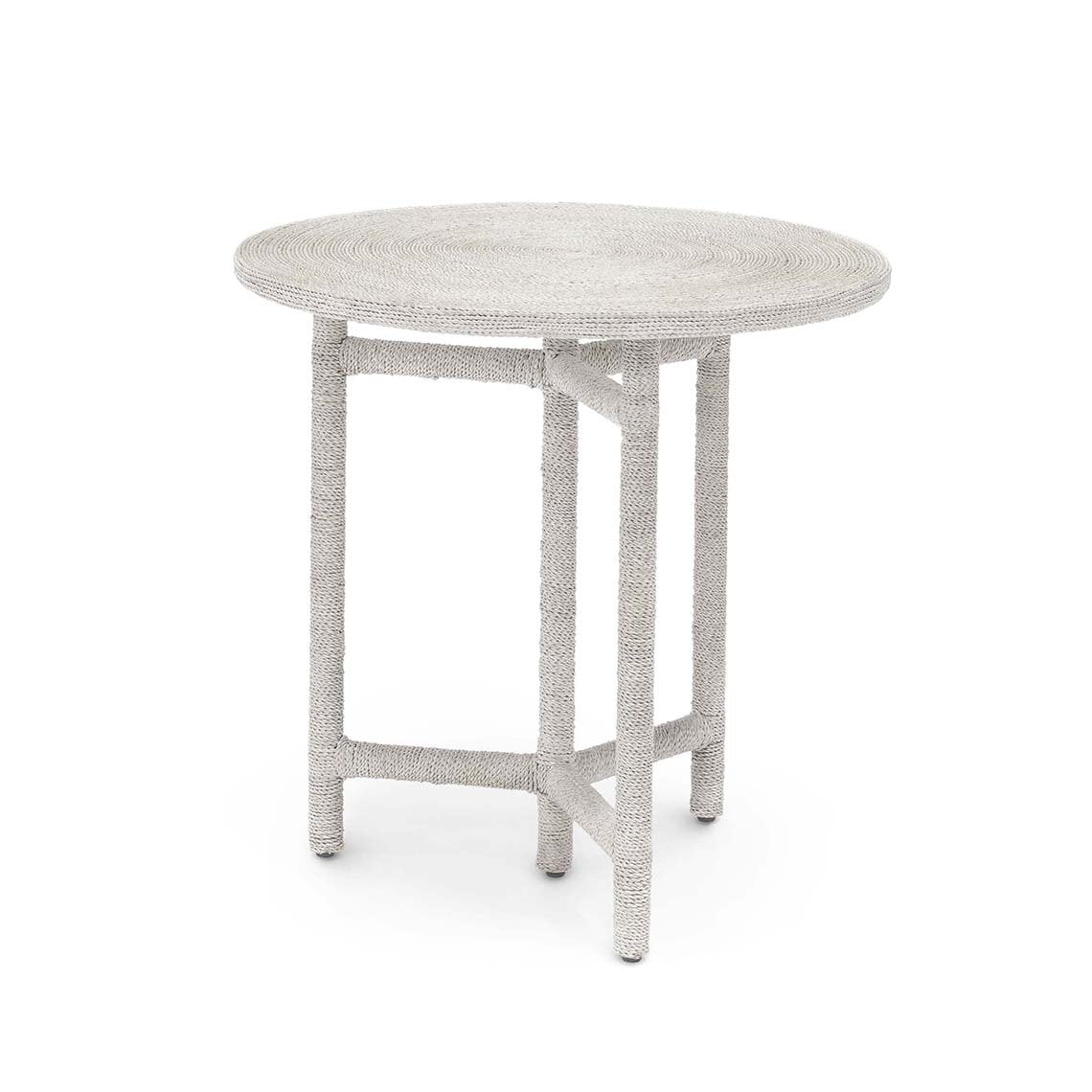 Monarch Side Table, White Sand