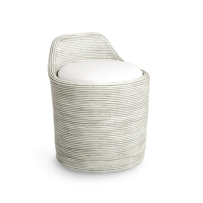 Enzo Swivel Stool Whitewash