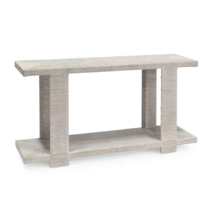 Clint Console Table, White Sand