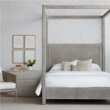 Load image into Gallery viewer, Woodside Canopy Bed, King, Wht Snd