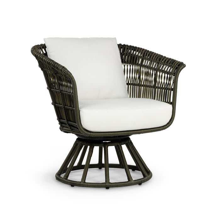 Trinidad Outdoor Swivel Lounge Chair With Flair