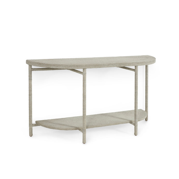 Monarch Console Table White Sand