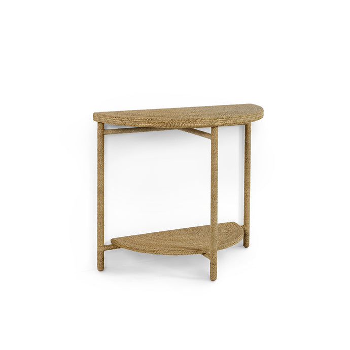 Monarch Demilune Table Natural
