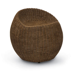Rattan Swivel Stool