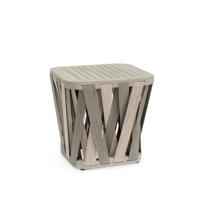 Boca Outdoor Side Table, Square