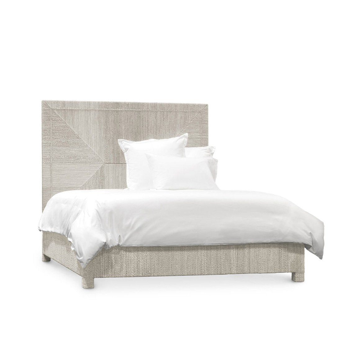 Woodside Bed, Queen, White Sand