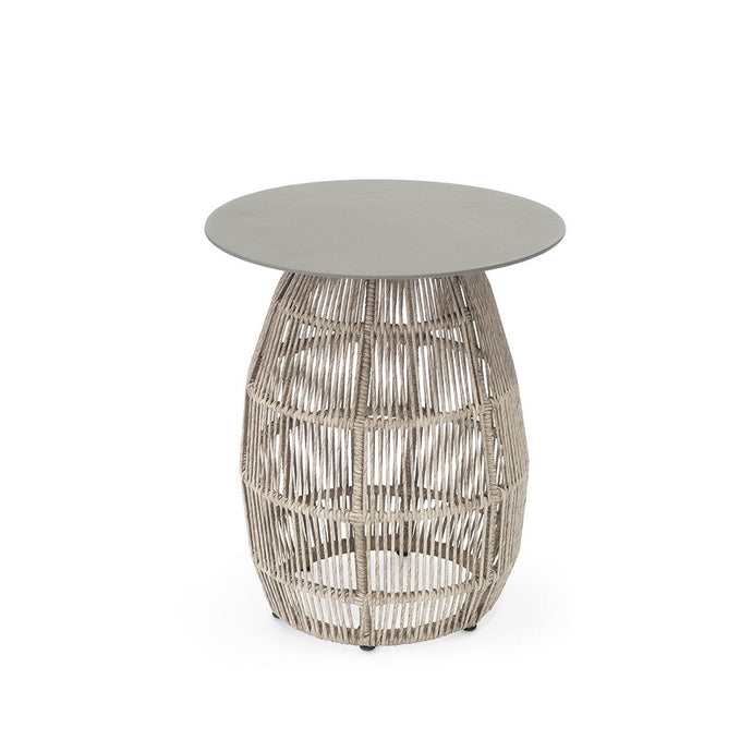 Loretta Side Table Aluminum Top