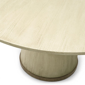 "Conrad Dining Table 52"", Gold"