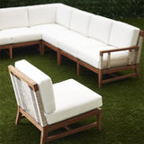 Load image into Gallery viewer, Amalfi Outdoor Sectional Right Arm Facing