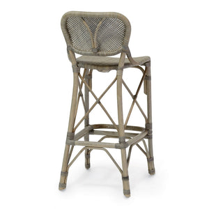 "Jordan 24"" Counter Barstool, Grey"