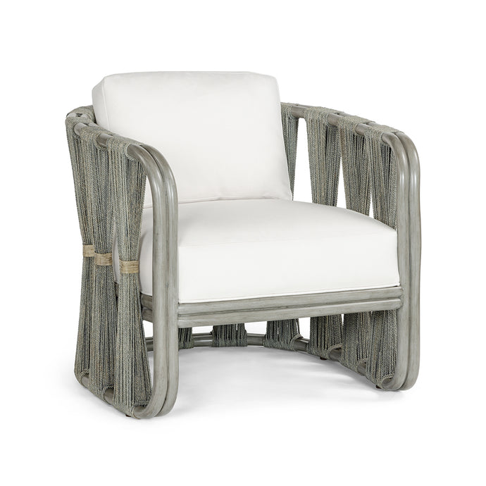 Strings Attached Lounge Chair, Grey