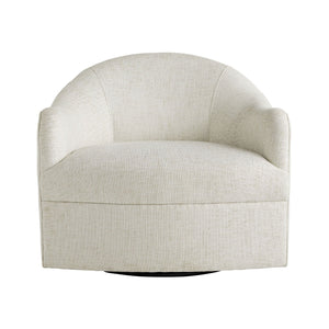Delfino Chair Frost Linen Swivel