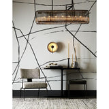 Load image into Gallery viewer, Chandler Chandelier - Brown Nickel