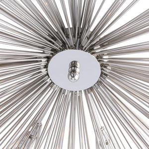 Roxanne Flush Mount - Polished Nickel