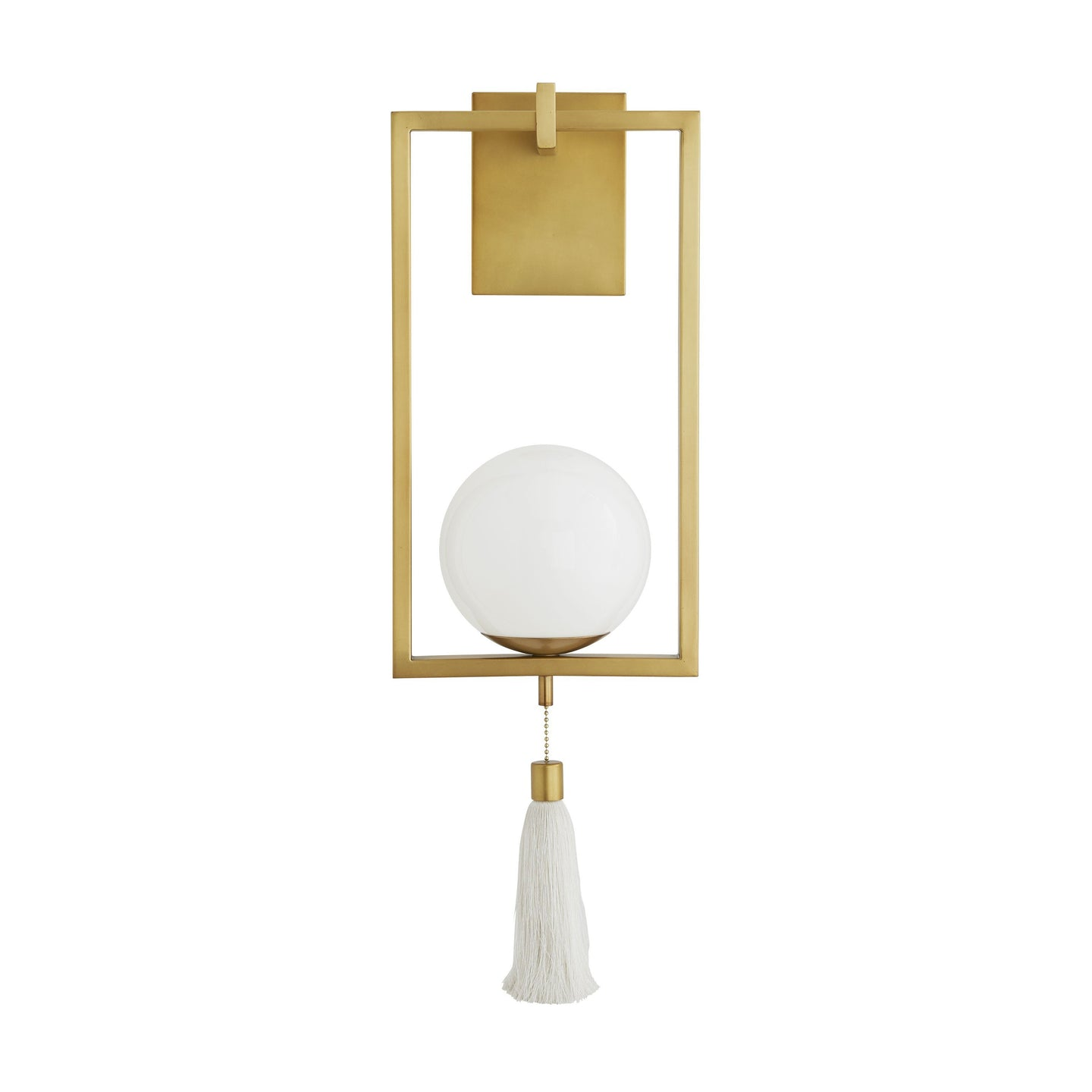 Trapeze Sconce - Antique Brass