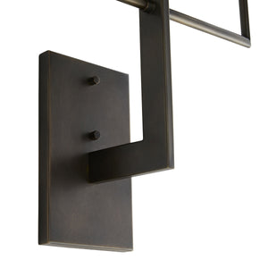 Blade Sconce - Aged Bronze