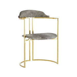 Zephyr Chair - Polished Brass