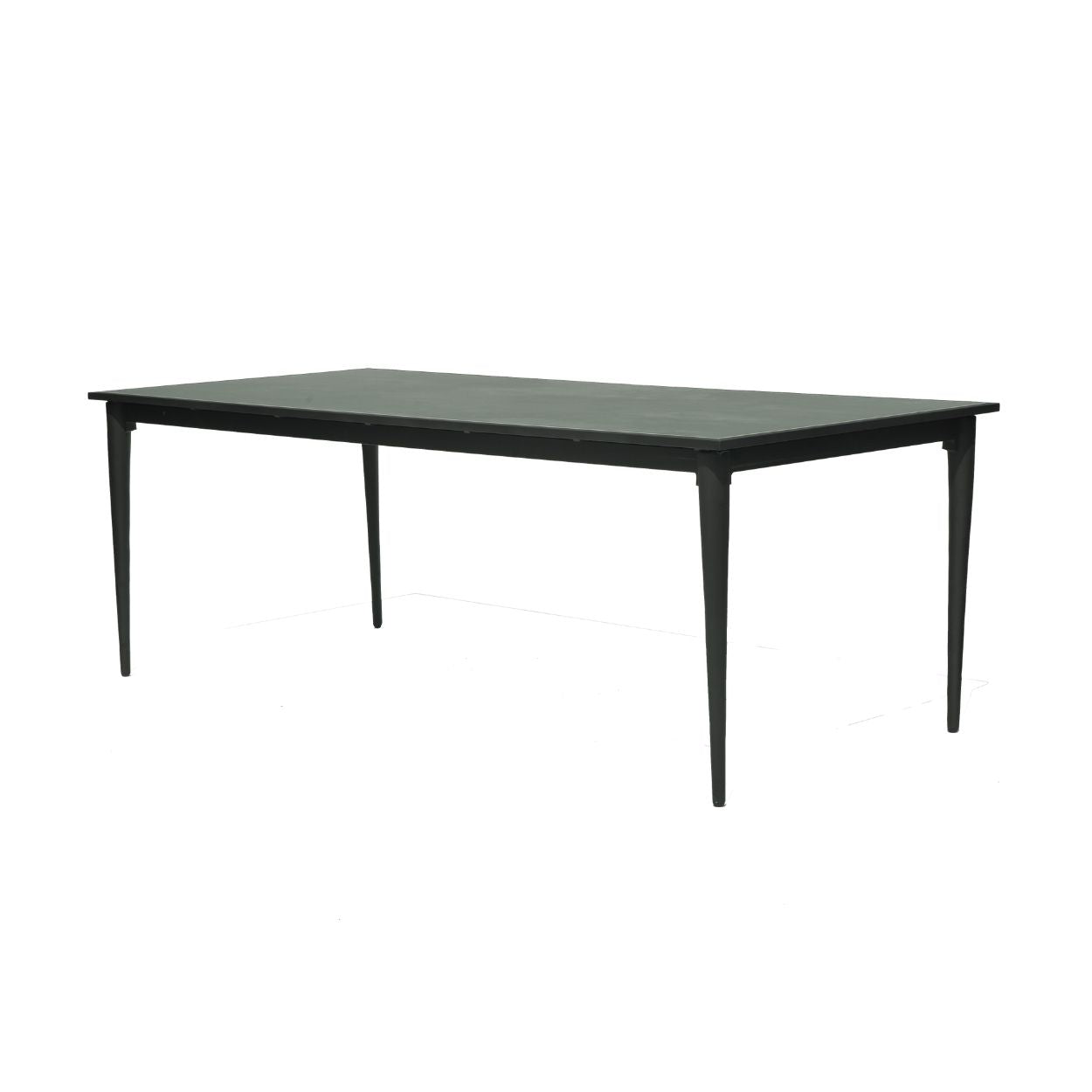 Serpent Rectangular Dining Table with Ceramic Top
