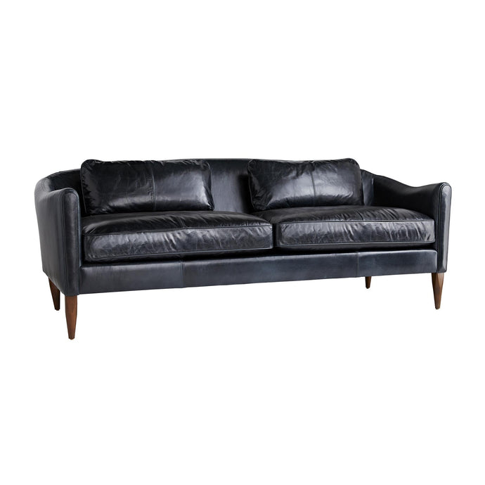 Vincent Sofa Ink Leather