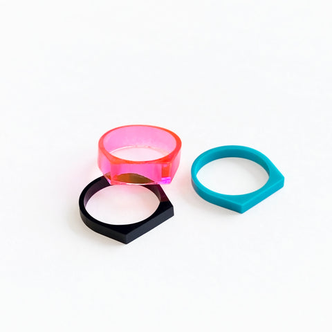 Flat Top Stacking Ring