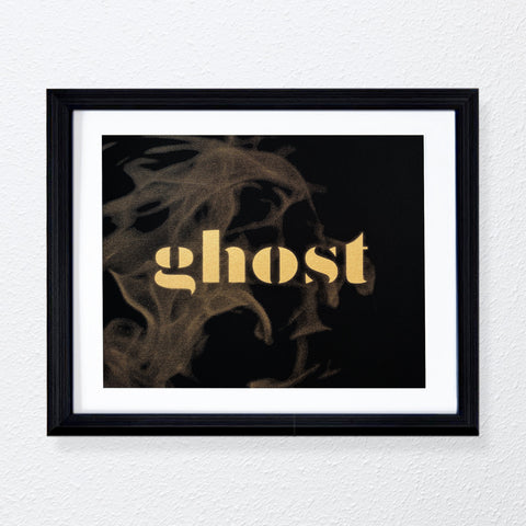 Ghost Print in Gold