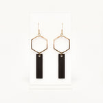 Hydrogen Earrings (Leather)