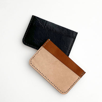 DIY Kit: Leather Card Sleeve