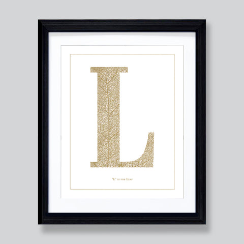 """L"" is for Leaf"