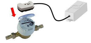 Water meter pulse transmitter