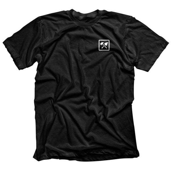 Bricks and Bombs Franklin Shirt Black Front