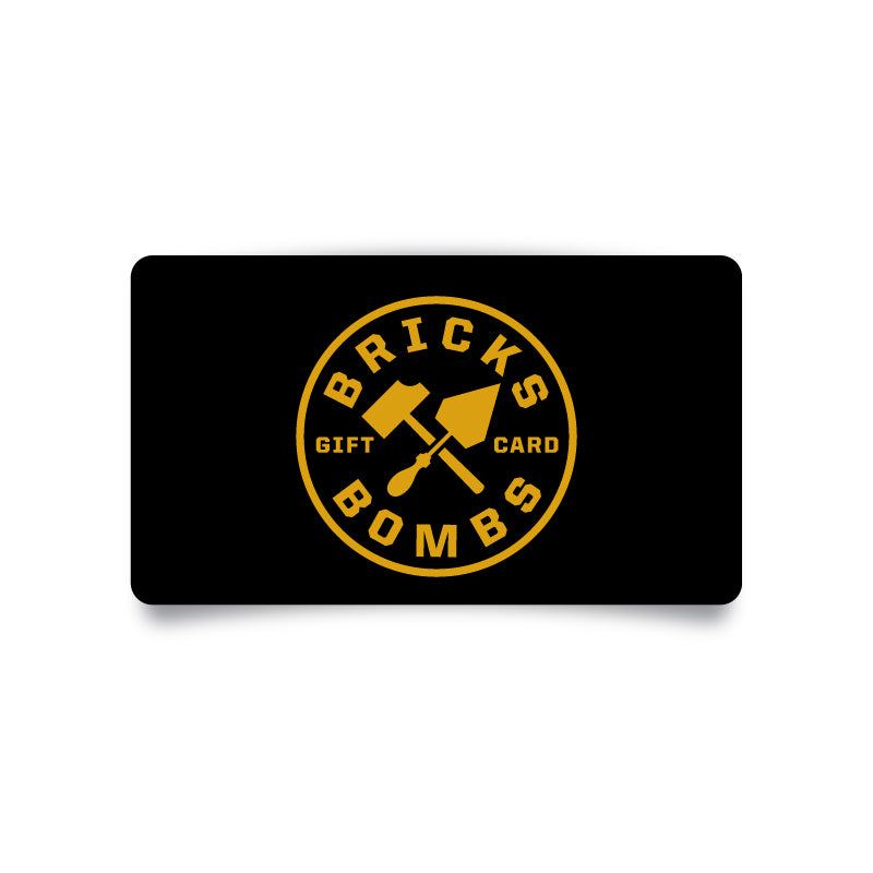 Bricks and Bombs Gift Card