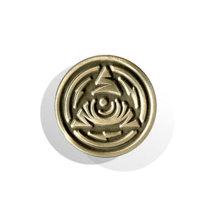 Icon Eye Seal Lapel Pin