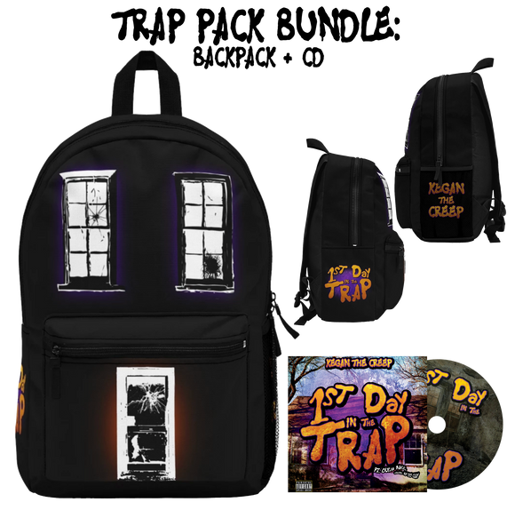 Trap Pack Bundle: Backpack + CD