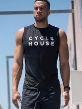 Load image into Gallery viewer, CYCLE HOUSE x CHILL BY WILL Mesh Muscle Tank