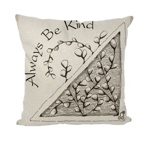 Be Kind Throw Pillows