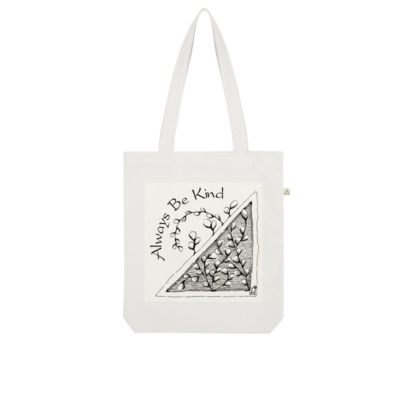 Be Kind Organic Tote Bag