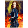 Black Widow Cool Wall Decor Art Print Poster