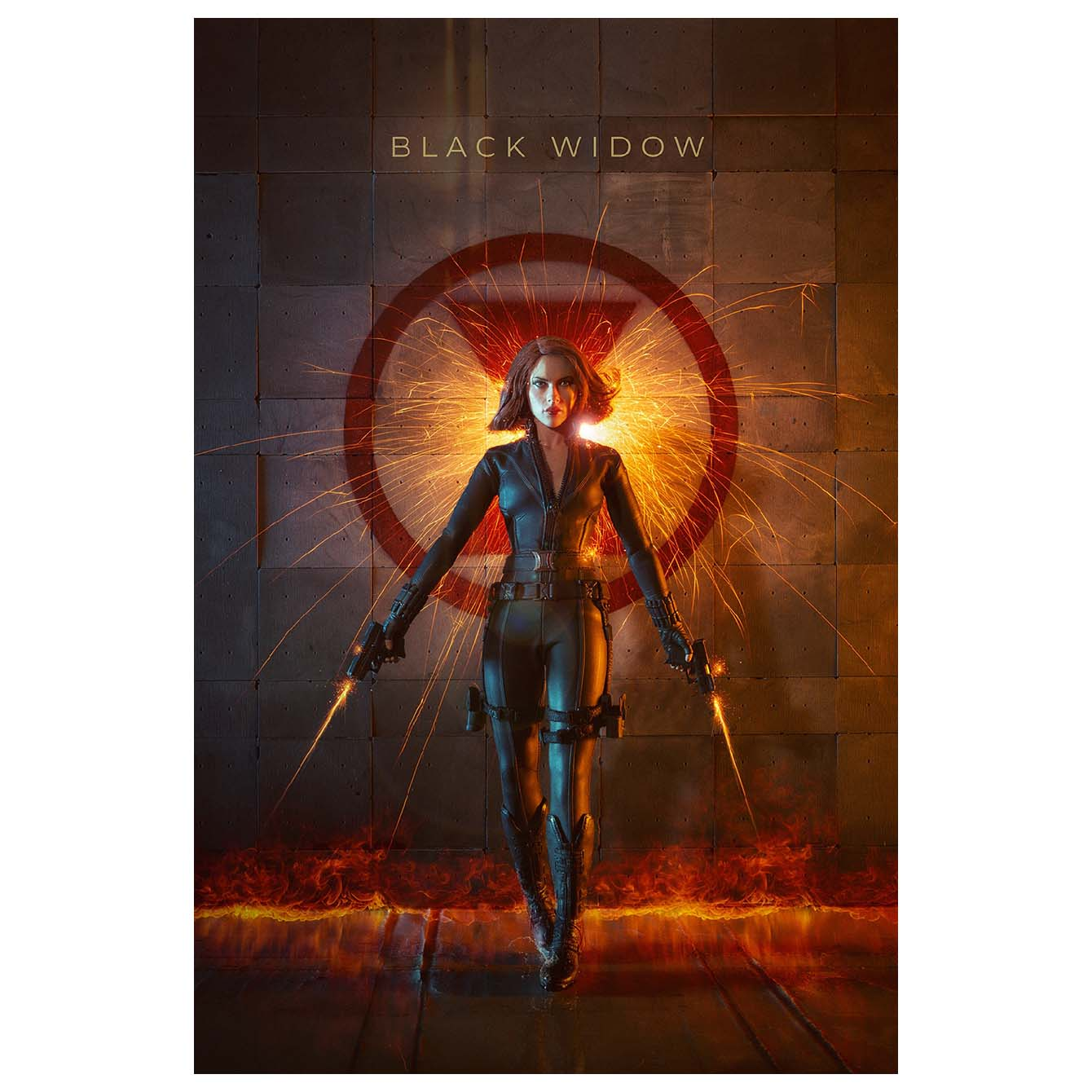 Black Widow Art work