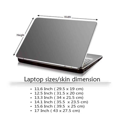 Stop When You Done Laptop Skin