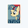 Study Unicorn Framed Poster