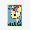 Study Unicorn Postcard